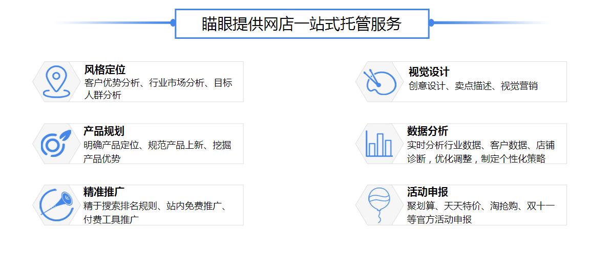 杭州淘宝代运营服务项目