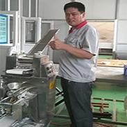 河南饺子机客户