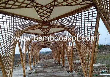 竹建筑—原竹景观