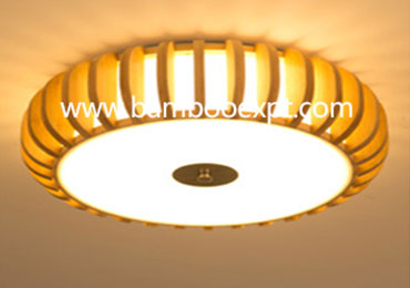 竹灯具—吸顶灯