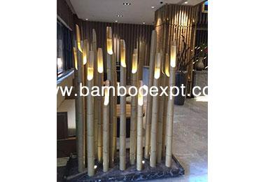 竹灯具—落地灯
