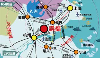 处沪杭都市圈,未来繁华可期