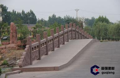 公园石桥展示