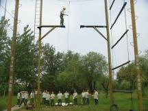 突破自我高空挑戰拓展訓練
