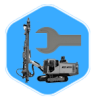 Maintenance of underground drilling rig