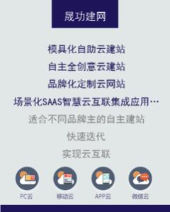 晟功建网-品牌SAAS云建站