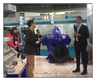 上海KSB参加第十七届石油化工展