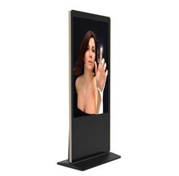 【落地触摸广告机】采用工业级液晶面板,全高清,全视角IPS屏