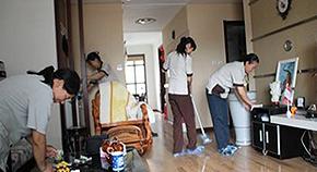 家庭保洁现场照片