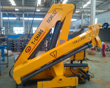 6吨折叠臂随车起重机(SQ6.3ZA2)