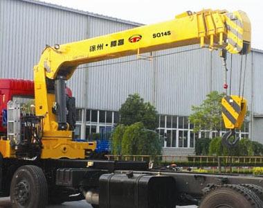 14吨伸缩臂随车起重机(SQ14SA4)