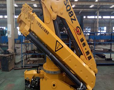 8吨折叠臂随车起重机(SQ8ZA3)