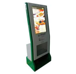 【定制型广告机】此款为银行定制擦鞋广告机,可根据客户需求定制