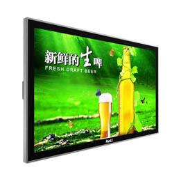 【壁挂网络广告机】可选安卓与电脑版系统,发布节目无需服务器节省投资
