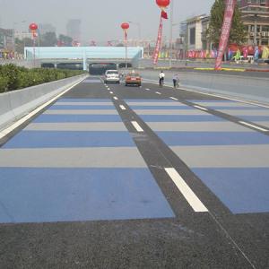 江西九江二桥彩色路面工程