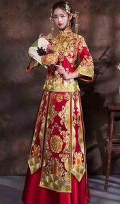 韓版七分袖中長款織棉條紋修身襯衫A字連衣裙