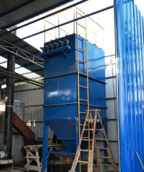 工业废气处理脉冲袋试除尘器