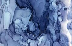 概念精品-蓝色 氛围图 元素意向(做PP