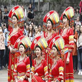 西安高校民族文化节