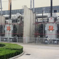 邹县电厂100万容量变压器