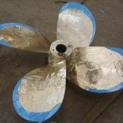 螺旋桨气蚀修补