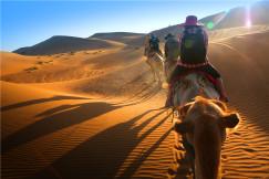 兩天一夜沙漠徒步初體驗