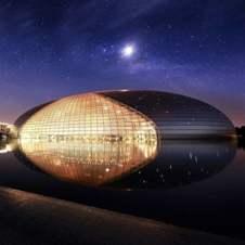 国家大剧院夜景