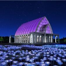 玫瑰园产业园夜景