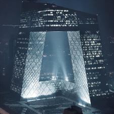央视新楼夜景照明
