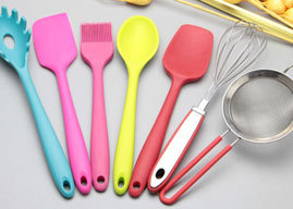厂家批发硅胶厨具 食品级硅胶烘焙工具时 尚厨房小工具...