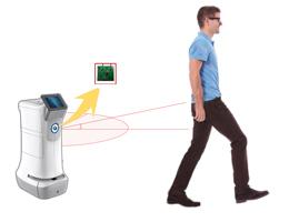 机器人自动跟随及定位导航
