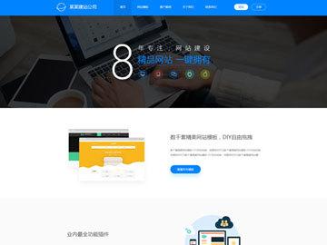 企业网站,功能性强