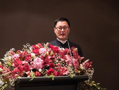 总商务常务副会长孙金勇先生在新闻发布会上