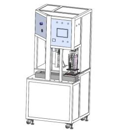 全自动水煲身压底盖与锁螺丝设备