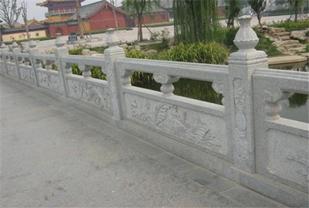 桥梁石栏杆的设计