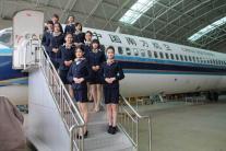 航空乘务专用实训舱