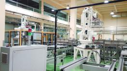 贝因美智能工厂物流系统