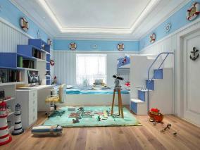 儿童房家具设计