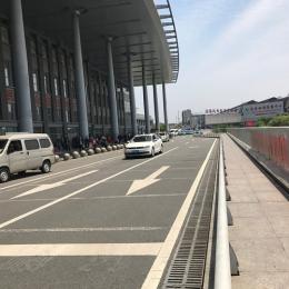 宜昌高铁排水沟铺装效果