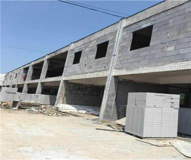 重庆巴南融汇半岛加气砖隔墙