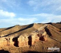 哈萨克斯坦境内的恰伦大峡谷   摄影:王仕伟