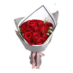 鲜花/爱的诺言-红玫瑰19枝