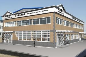 泰安企业单位办公室、员工餐厅设计制作施工