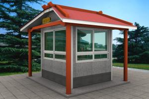 泰安商务亭、泰安岗亭设计制作施工