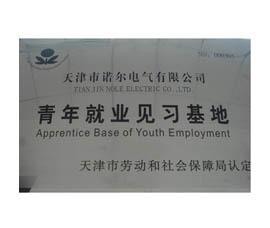 青年失业见习基地荣誉证书