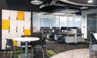 互联网科技公司办公室装修
