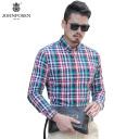 【批发】约翰普森休闲衬衫格子色织系列97001
