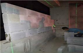 泡沫砖隔墙
