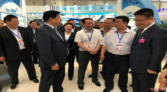 汉台区在2018年丝博会成功签约13个项