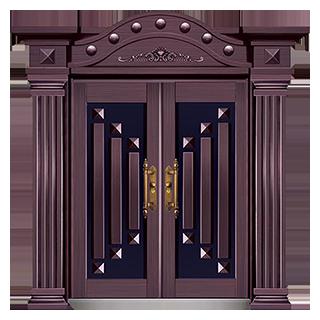 JFA-8801-福瑞之家(仿真紫铜)